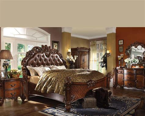 acme furniture bedroom sets bedroom set vendome cherry by acme furniture ac22000set