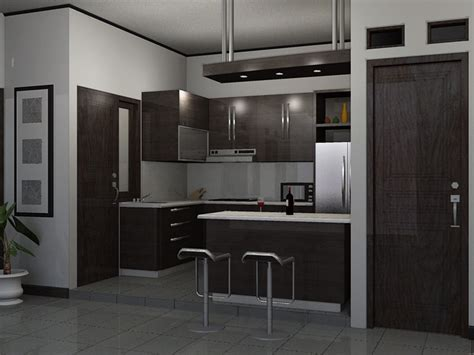 desain dapur mini kitchen set mini bar semarang azzahra furniture