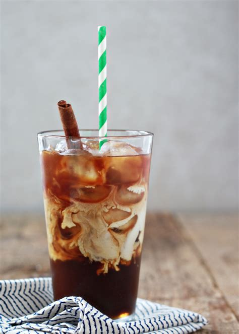 Cinnamon Dolce Iced Coffee   Kitchen Treaty