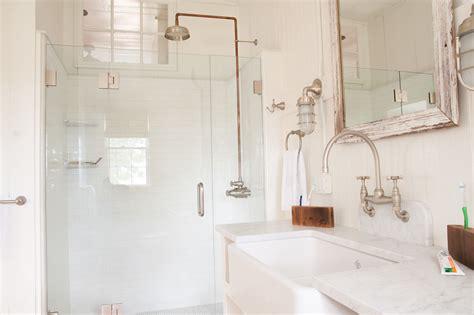 exposed bathroom plumbing exposed shower plumbing bathroom beach with airy beach cottage beach beeyoutifullife com