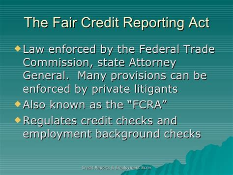 Credit Background Check For Employment Credit Reports Employment Screenings