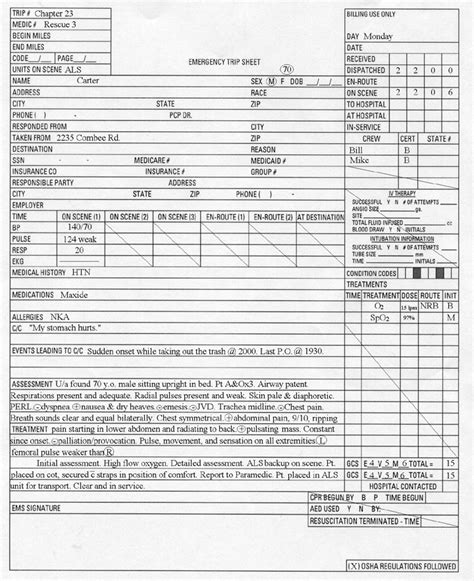 best photos of ems report template ems patient care