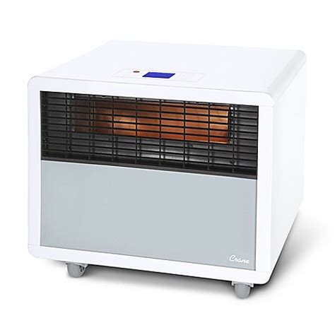 bed bath and beyond heaters crane infrared smartheater in white bed bath beyond