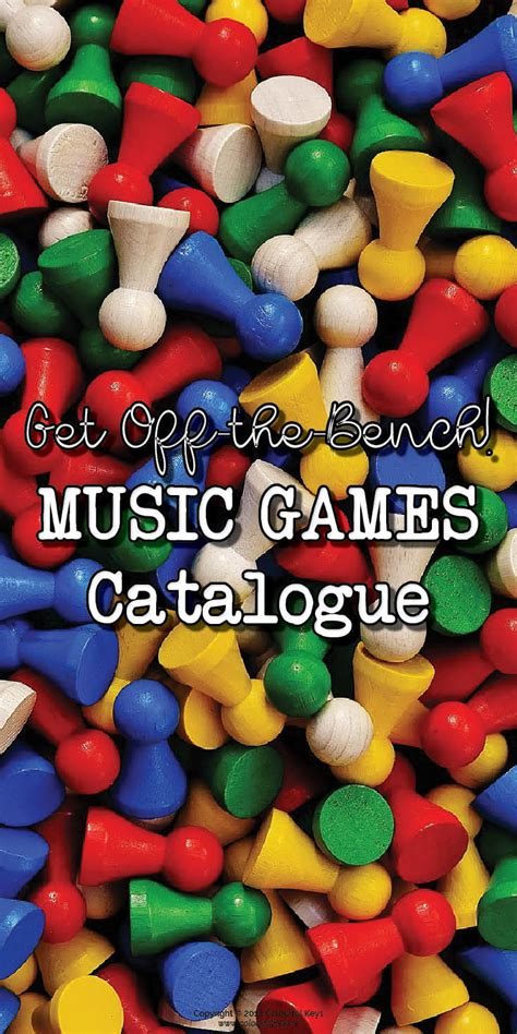 bench catalogue off the bench catalogue music theory games activities by level colourful keys