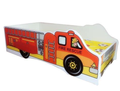 autobett feuerwehr truck bett kinderbett autobett feuerwehr mit rollrost und matratze 70 140 cm sos