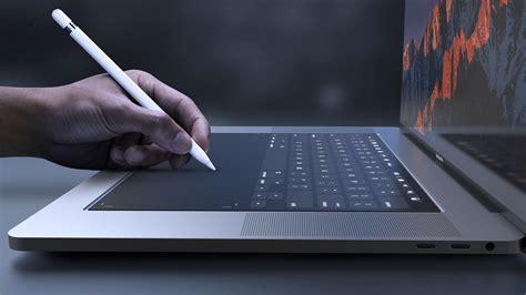 Macbook Pro Di Amerika konsep macbook pro 2018 dengan sokongan apple pencil amanz