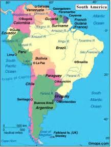 guyana map south america guyana information