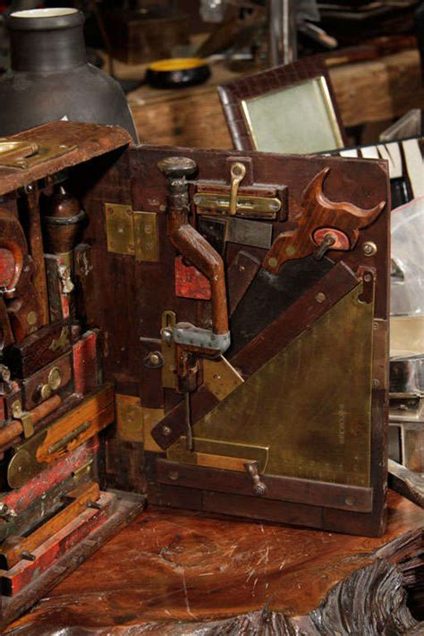 19th century woodworking tools 19th century fitted tool box at 1stdibs