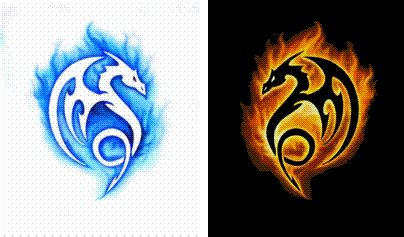 fire dragons pictures clipart best