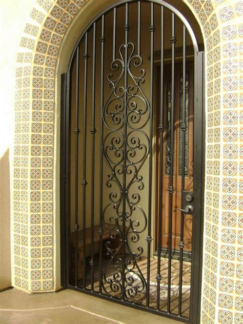 security gate for front door security doors functionality aesthetics and safety
