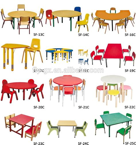 furniture wholesale wooden used table and chairs
