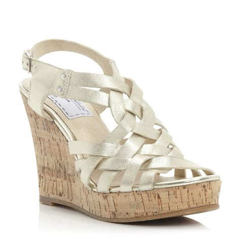 gold wedge sandals gold wedge shoes wedge sandals