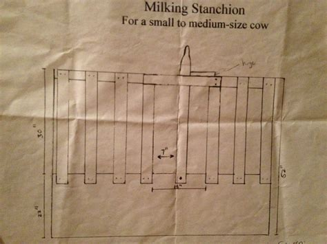 we built our first cow milking stanchion farm family milk cow part one