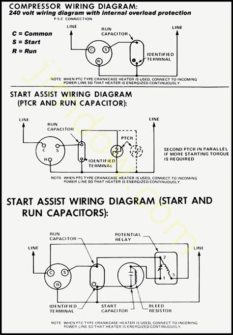 scroll compressor wiring diagram wiring diagram with