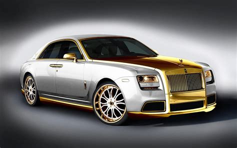rolls royce gold automotive คนร กรถ rolls royce elegance and style