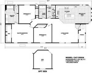 cavco homes floor plans floor plan cat 2860a catalina series durango homes