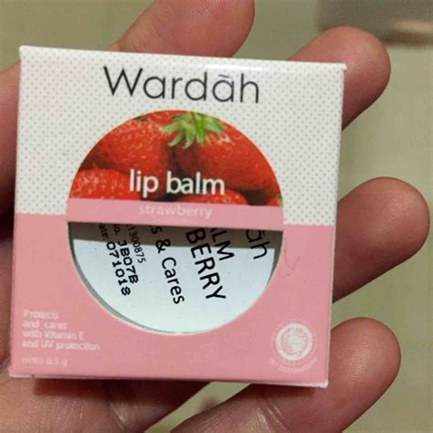 Wardah Lip Di Alfamart jual beli wardah lip balm strawberry terlengkap