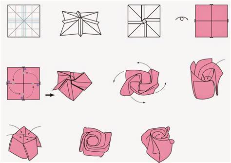 Cool Origami Flower - 53 anleitungen f 252 r origami blume so werden sie