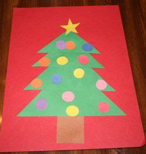 Construction Paper Crafts For Preschoolers - trees preschool crafts and