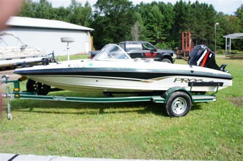perfect fish and ski boat procraft 180 combo fish and ski used in three lakes wi