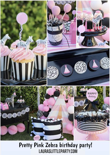 zebra themed birthday party pretty pink zebra themed birthday party laura s little