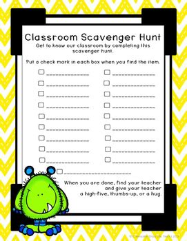 biography in context scavenger hunt back to school classroom scavenger hunt by enjoy life