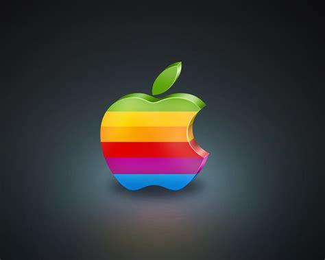 3D Bunte Apple Hintergrundbilder   1280x1024