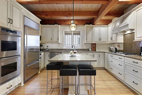 Kitchen Wood Ceiling by Eclectic Mix Of 42 Custom Kitchen Designs
