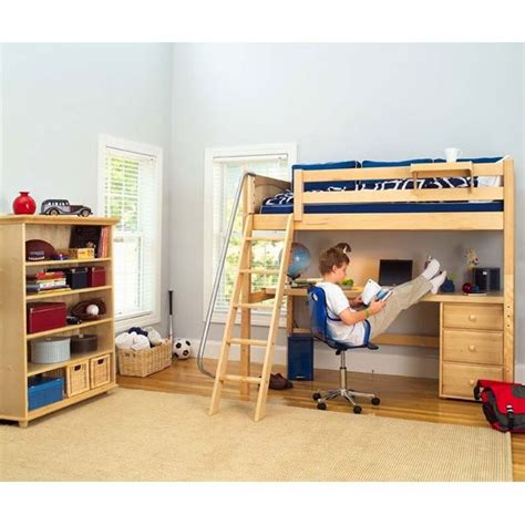 Boy Bunk Beds With Desk Pin By Mona L On House And Home