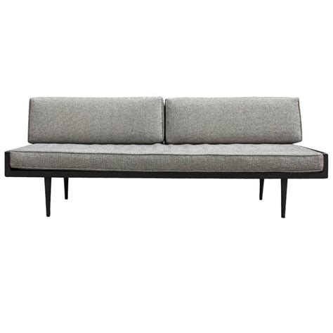 daybed style sofa sleek armless danish style sofa or daybed at 1stdibs