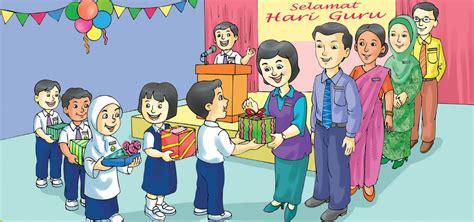 gambar kartun kad hari guru kerjaya guru dan cabaran menuju tn50 mynewshub