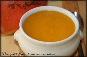 potage aux legumes d automne potiron carotte chignon