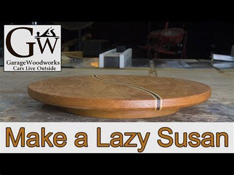 how to make a lazy susan for a kitchen cabinet lazy susan youtube