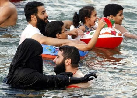female swimmer hygiene banned in france first the burqa now the burqini