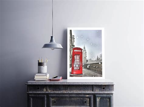 Snowball Box Winter Import Qmr6 telephone box big ben the parliament snow winter flakes uk photography picture