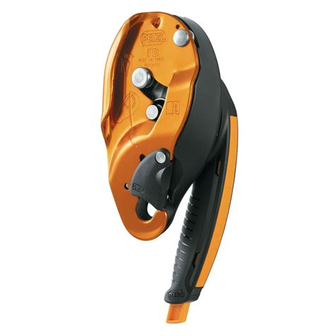 The By S I D petzl i d descender belay device id
