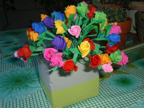 How To Make Mexican Flowers From Crepe Paper - paper flowers mexican crepe paper