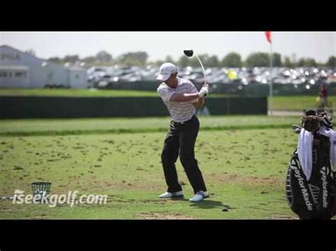 mike weir golf swing mike weir golf swing 2009 us pga youtube