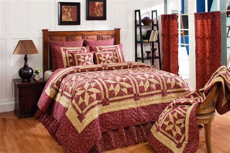 ihf home decor evelyn wine by olivias heartland quilts
