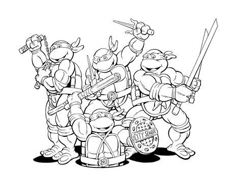 teenage mutant ninja turtles christmas coloring pages teenage mutant ninja turtles colors az coloring pages