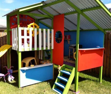 backyard cubby house 25 best ideas about cubby houses on pinterest kids