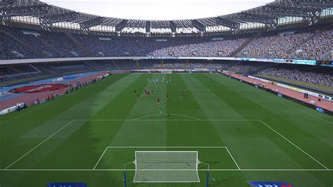 www san paolo pes 2017 stadio san paolo napoli by cris pes patch