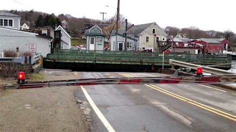 swinging in bristol south bristol maine swing bridge opening and closing youtube