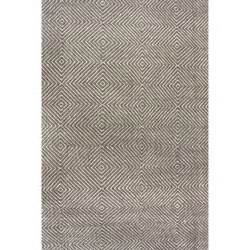 Woven Area Rugs Mercury Row Marcelo Flat Woven Gray Area Rug Reviews
