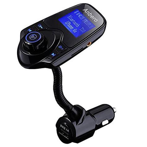 radio de voiture avec usb anbero transmetteur fm bluetooth mains libres voiture