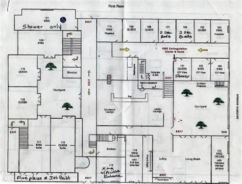 mission san carlos borromeo de carmelo floor plan first floor plan picture of cypress inn carmel