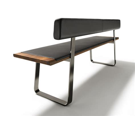 leather and wood bench luxury wood and metal benches team 7 nox wharfside furniture