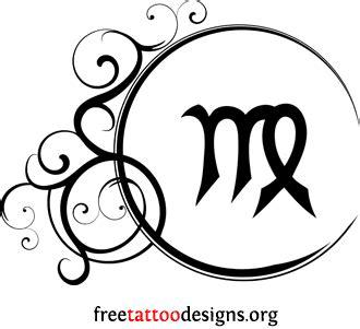 virgo star sign tattoo designs virgo tattoos 50 designs and ideas