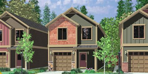 house plans for narrow lots with garage narrow lot house plans building small houses for small lots