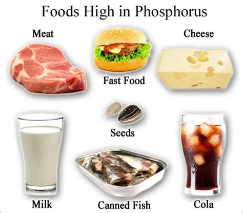 low phosphorus food high low phosphorus foods deficiency blood phosphate levels